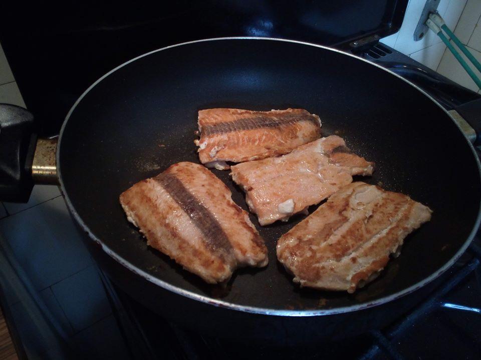 Wild Salmon Grilled
