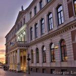 Sunset in Riga 1